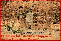 CAMINO CORIA SALAMANCA AÑO  1591