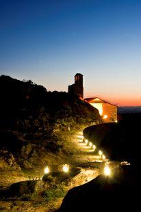 Subida nocturna al Castillo de Trevejo