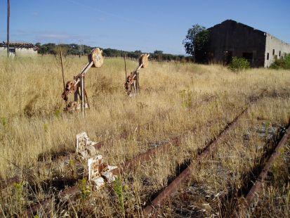 Estación olvidada Villar de Plasencia