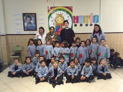 Visita de Don Bosco y Mam� Margarita
