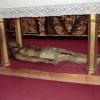 Cristo yacente bajo el Altar Mayor de la Ermita