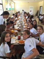 Comida de despedida de los alumnos de 6º con sus tutores