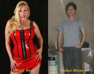 Windy West and her boyfriend Yashaii Moran