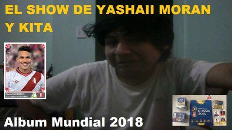 Yashaii Moran, album mundial 2018